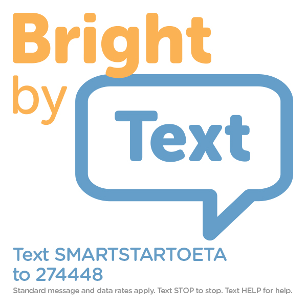 Text SMARTSTARTOETA to 274448