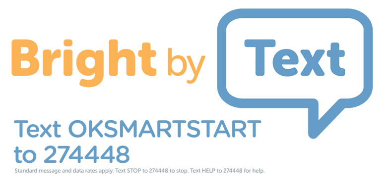 Text OKSMARTSTART to 274448